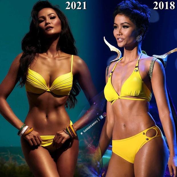 HHen Niê và sự thay đổi ngoạn mục: Từ nàng mẫu thiếu thốn đường cong đến búp bê Barbie phiên bản đời thực - Ảnh 5.