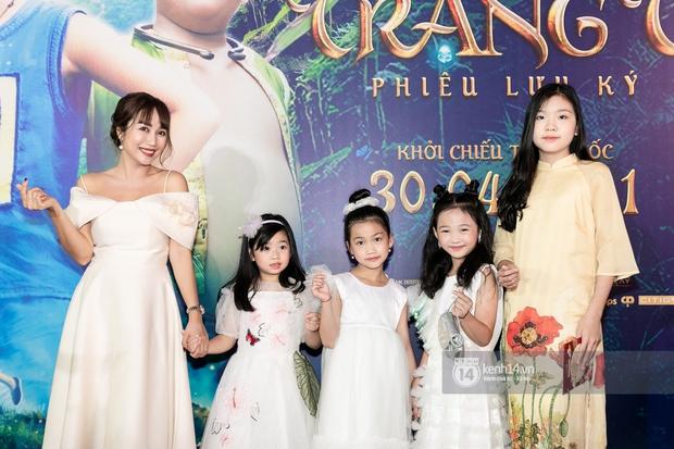 Con gái cố NS Mai Phương xinh như thiên thần, quấn quýt không rời bên Ốc Thanh Vân và bảo mẫu trên thảm đỏ Trạng Tí - Ảnh 7.