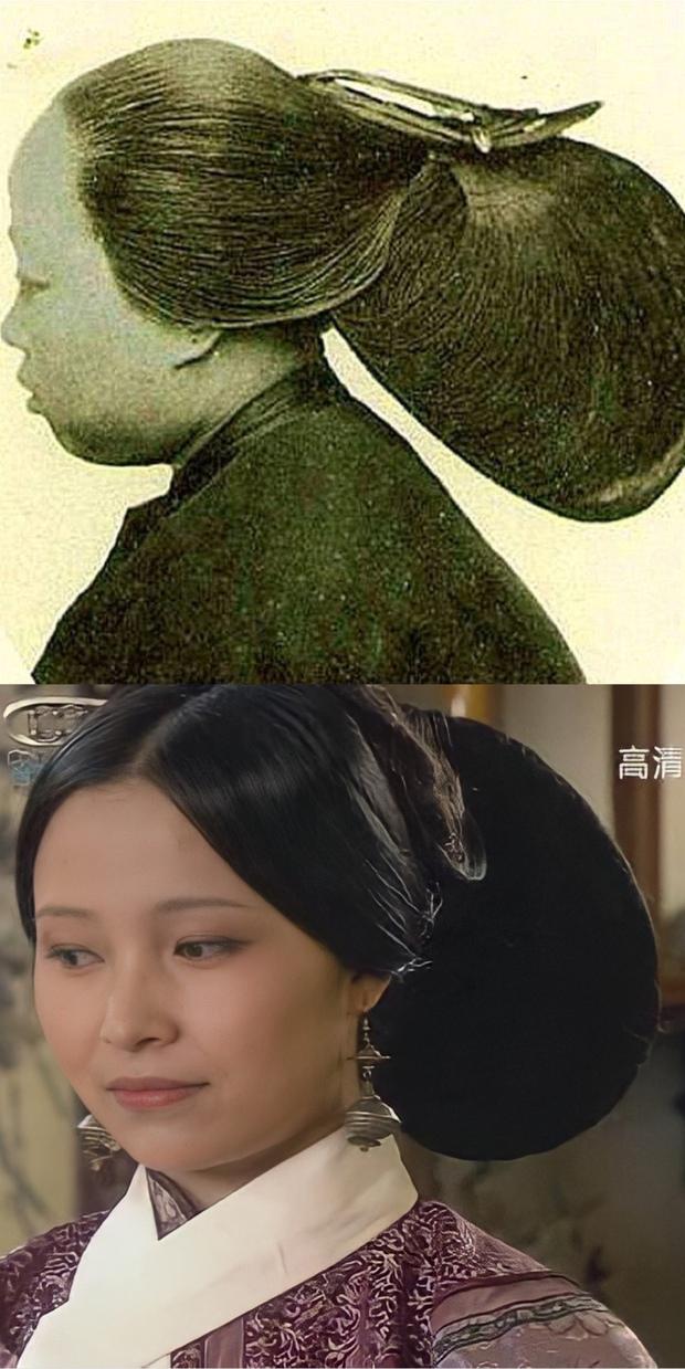 Ẩn ý phía sau búi tóc cồng kềnh của phụ nữ triều đại nhà Thanh: Tốn nhiều giờ tạo kiểu, cài đủ thứ lên đầu đâu chỉ để làm đẹp - Ảnh 4.