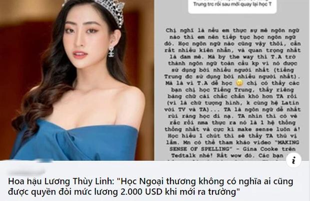 Câu: Sinh viên Ngoại thương không được quyền đòi lương 2.000 USD bị chê bai, cả Lương Thùy Linh lẫn Hà Việt Hoàng lên tiếng đáp trả cực gắt - Ảnh 1.