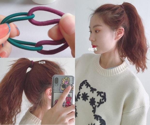 Muốn buộc tóc đuôi ngựa thật trẻ xinh mà không lộ hói như sao Hoa - Hàn thì bạn phải nhớ kỹ bước này - Ảnh 4.