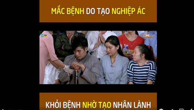 Diễn viên bị tố giả mù trong clip Võ Hoàng Yên trị bệnh chính thức lên tiếng, Thanh Bình và nhiều khán giả bênh vực - Ảnh 5.