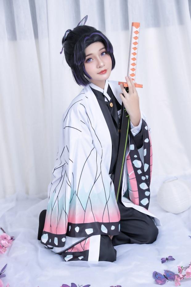 Kimetsu no Yaiba: Trùng trụ Shinobu qua màn hóa thân của nàng coser Việt, đẹp không để đâu cho hết - Ảnh 1.