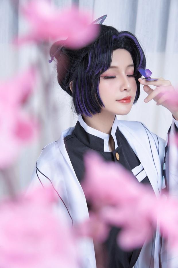 Kimetsu no Yaiba: Trùng trụ Shinobu qua màn hóa thân của nàng coser Việt, đẹp không để đâu cho hết - Ảnh 3.