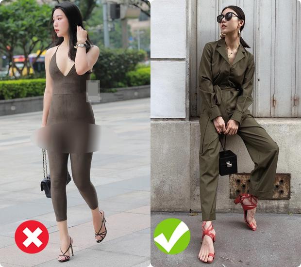 Chị em muốn mặc jumpsuit để khoe dáng thì đừng gây phản cảm như cô gái này... - Ảnh 2.