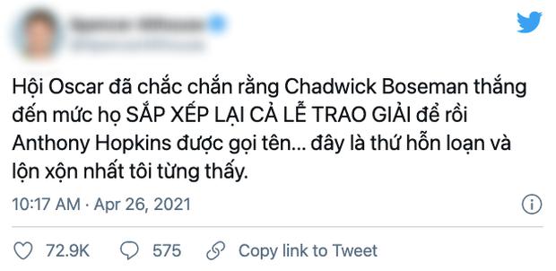 Oscar gây thất vọng toàn tập vì đánh cược vào cố tài tử Chadwick Boseman: Chỉ có thể nói là thảm họa! - Ảnh 6.
