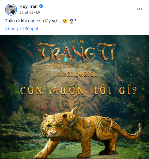 Ngô Thanh Vân - Huy Trần mượn Trạng Tí để thả thính chuyện cưới xin, lộ liễu quá rồi anh chị ơi! - Ảnh 2.