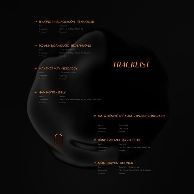Bích Phương, BigDaddy - Emily và dàn nghệ sĩ nhà 1989s đổ bộ Vpop với 7 MV kết hợp trong 1 album, quá dữ! - Ảnh 4.