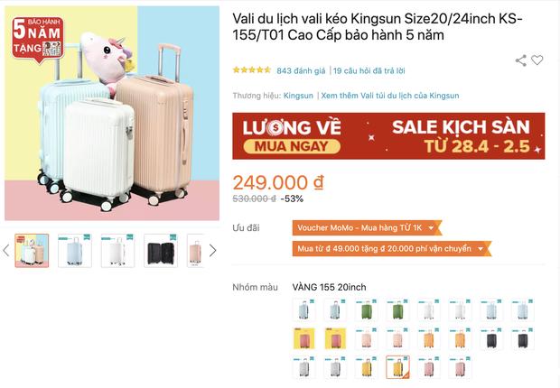 Tổng hợp đồ du lịch đang sale rẻ bèo, chị em mua lúc này tiết kiệm được bao nhiêu - Ảnh 15.