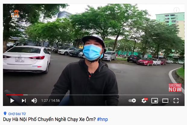 YouTuber Duy Nến bị dân mạng chỉ trích mấy hôm nay đã chuyển sang chạy xe ôm? - Ảnh 1.