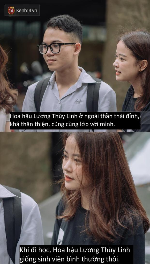 Chat nhanh sinh viên Ngoại thương: Tính cách thật của Lương Thùy Linh, dàn nhân vật tiềm năng thi Hoa hậu liệu có xinh không? - Ảnh 4.