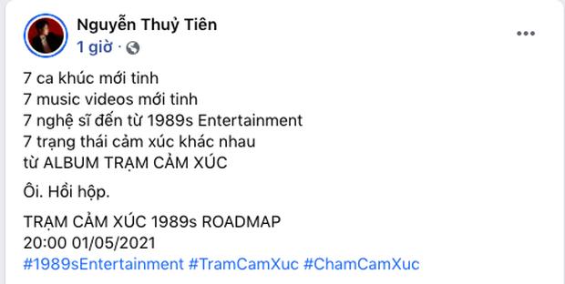 Bích Phương, BigDaddy - Emily và dàn nghệ sĩ nhà 1989s đổ bộ Vpop với 7 MV kết hợp trong 1 album, quá dữ! - Ảnh 1.