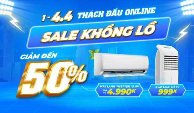Check nhanh loạt deal 4/4 hời nhất tại các siêu thị điện máy: Máy giặt - sấy siêu rẻ, TV giảm đến 50% - Ảnh 15.