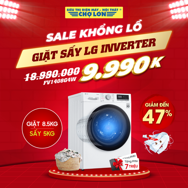 Check nhanh loạt deal 4/4 hời nhất tại các siêu thị điện máy: Máy giặt - sấy siêu rẻ, TV giảm đến 50% - Ảnh 21.