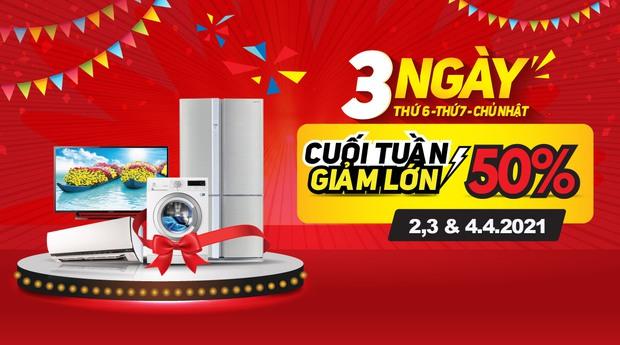 Check nhanh loạt deal 4/4 hời nhất tại các siêu thị điện máy: Máy giặt - sấy siêu rẻ, TV giảm đến 50% - Ảnh 23.