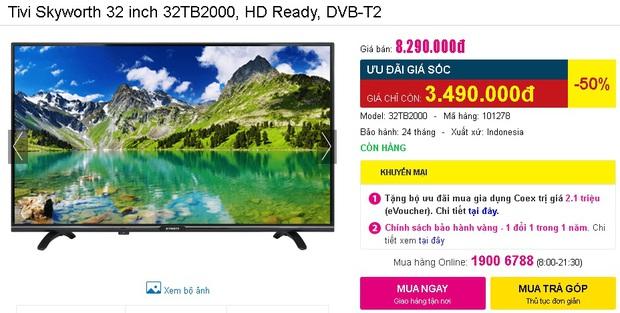Check nhanh loạt deal 4/4 hời nhất tại các siêu thị điện máy: Máy giặt - sấy siêu rẻ, TV giảm đến 50% - Ảnh 24.