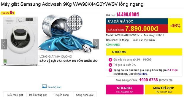 Check nhanh loạt deal 4/4 hời nhất tại các siêu thị điện máy: Máy giặt - sấy siêu rẻ, TV giảm đến 50% - Ảnh 26.