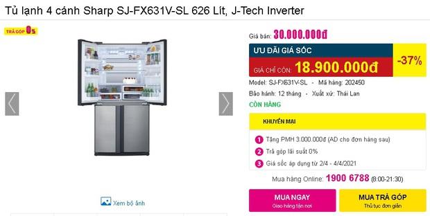 Check nhanh loạt deal 4/4 hời nhất tại các siêu thị điện máy: Máy giặt - sấy siêu rẻ, TV giảm đến 50% - Ảnh 28.