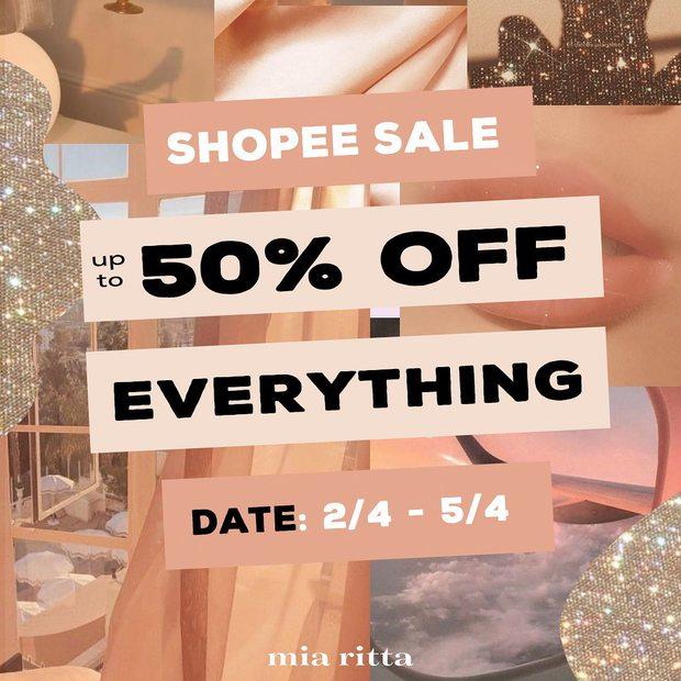 Loạt shop thời trang hot sale đẫm 4/4: Giảm đến 75%, cực nhiều đồ xinh - Ảnh 5.