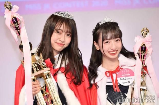 Cuộc thi Nữ sinh trung học đẹp nhất Nhật Bản tìm được Quán quân, nhưng Á quân mới là người gây chú ý hơn cả - Ảnh 1.