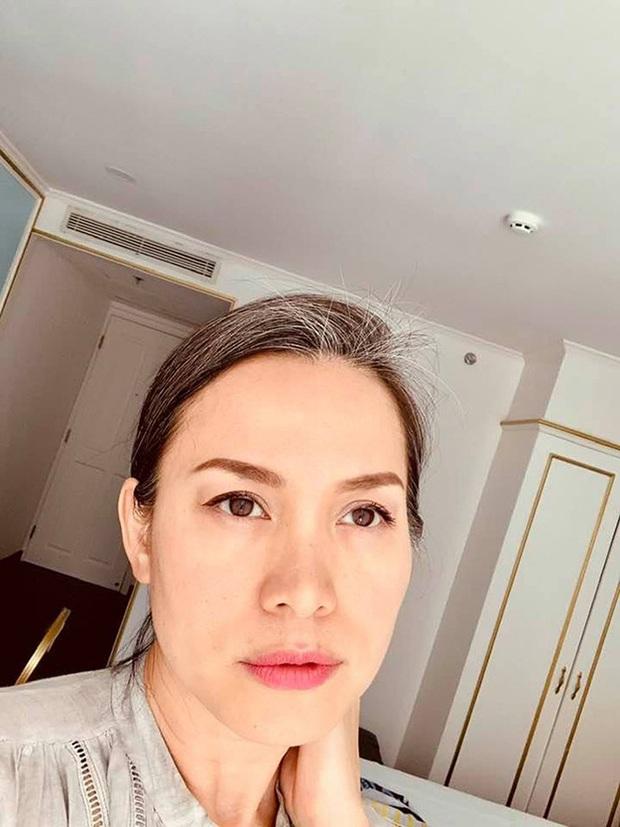 Hoa hậu Việt Nam 1998 Ngọc Khánh: Đầu đầy tóc bạc nhưng nhan sắc lại gây bất ngờ - Ảnh 3.