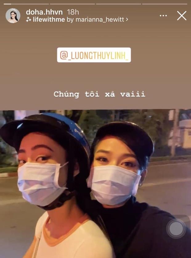Đỗ Thị Hà và Lương Thuỳ Linh dự event rồi về xả vai đi ăn vỉa hè, thiếu đồ lồng lộn mà vẫn xinh xỉu ngang xỉu dọc - Ảnh 3.