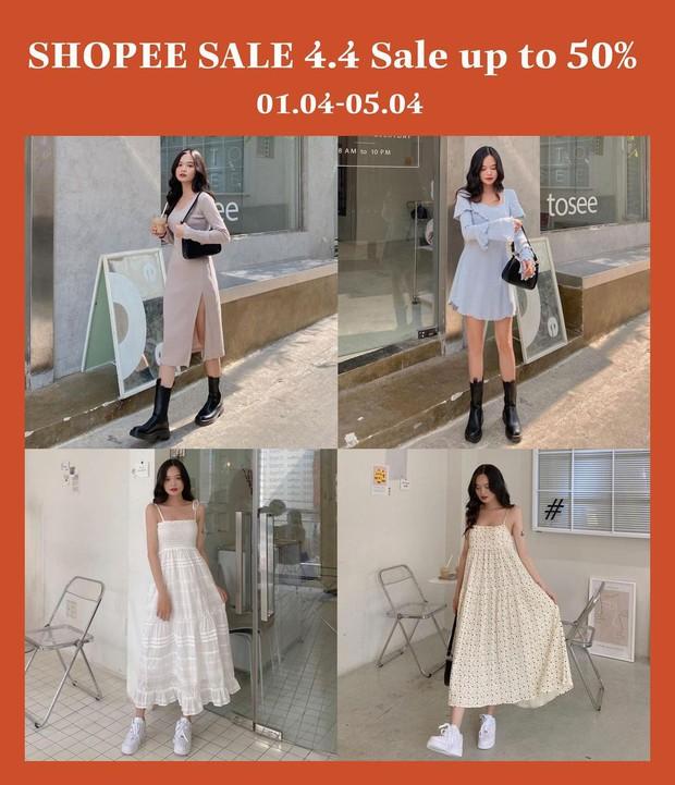 Loạt shop thời trang hot sale đẫm 4/4: Giảm đến 75%, cực nhiều đồ xinh - Ảnh 7.