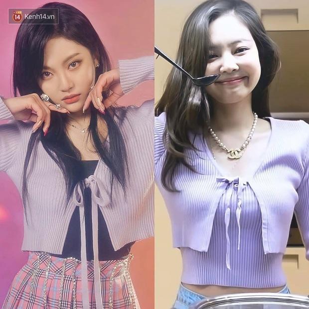 Bằng chứng cho thấy Ningning (aespa) chính là song sinh của Jennie: Cứ nhìn cách makeup, lên đồ là rõ - Ảnh 1.