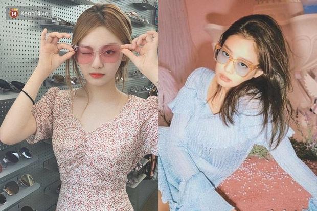Bằng chứng cho thấy Ningning (aespa) chính là song sinh của Jennie: Cứ nhìn cách makeup, lên đồ là rõ - Ảnh 8.