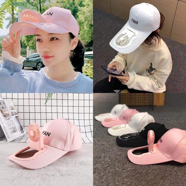 """Trời nóng thế này, tia ngay 5 """"chiếc nón kỳ diệu"""" tích hợp cả mũ lẫn quạt mini, giá chỉ từ 160K - Ảnh 3."""