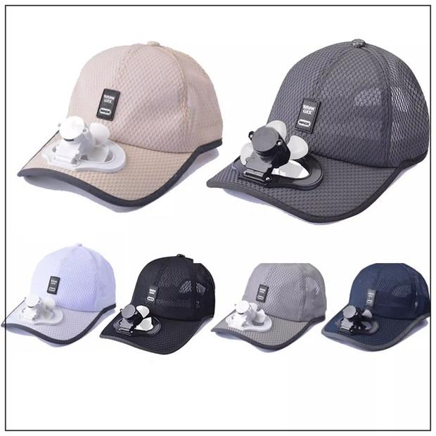 """Trời nóng thế này, tia ngay 5 """"chiếc nón kỳ diệu"""" tích hợp cả mũ lẫn quạt mini, giá chỉ từ 160K - Ảnh 5."""