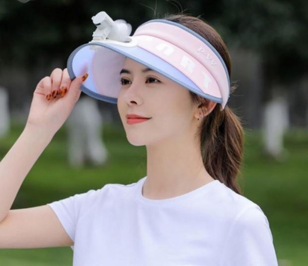 """Trời nóng thế này, tia ngay 5 """"chiếc nón kỳ diệu"""" tích hợp cả mũ lẫn quạt mini, giá chỉ từ 160K - Ảnh 7."""