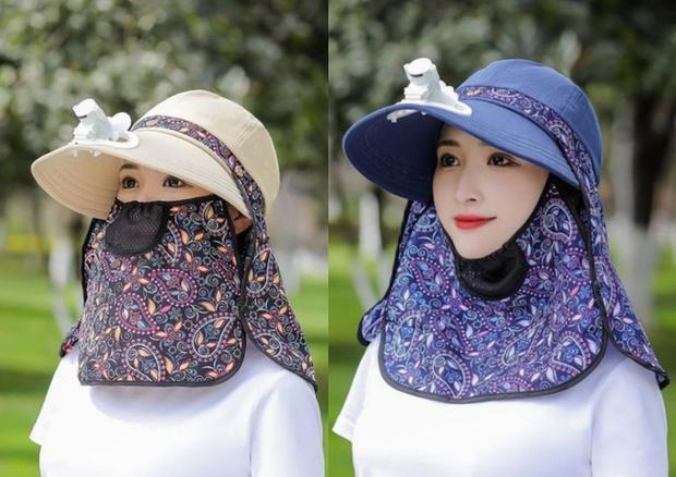 """Trời nóng thế này, tia ngay 5 """"chiếc nón kỳ diệu"""" tích hợp cả mũ lẫn quạt mini, giá chỉ từ 160K - Ảnh 9."""