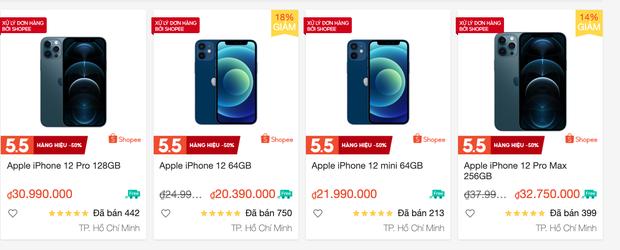 Lễ 30/4 hàng loạt sàn TMĐT giảm giá iPhone 12 kịch sàn, nhưng tại các cửa hàng bán lẻ còn có giá tốt hơn? - Ảnh 2.