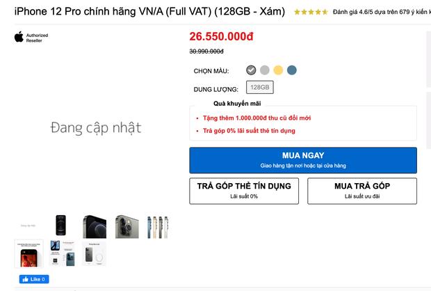 Lễ 30/4 hàng loạt sàn TMĐT giảm giá iPhone 12 kịch sàn, nhưng tại các cửa hàng bán lẻ còn có giá tốt hơn? - Ảnh 4.