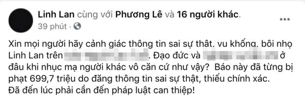 Vợ cố NS Vân Quang Long chính thức lên tiếng khi bị tung tin vu khống, bịa đặt từng có hành vi xấu trong quá khứ - Ảnh 2.