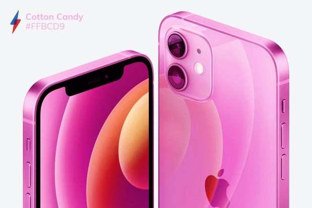 Quên iPhone 12 màu tím mộng mơ đi mà ngắm nhìn bộ concept iPhone 13 với 5 màu sắc mới cực quái - Ảnh 5.