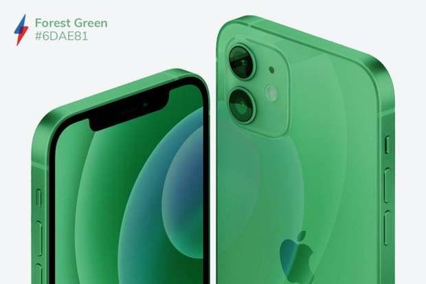 Quên iPhone 12 màu tím mộng mơ đi mà ngắm nhìn bộ concept iPhone 13 với 5 màu sắc mới cực quái - Ảnh 2.