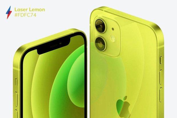 Quên iPhone 12 màu tím mộng mơ đi mà ngắm nhìn bộ concept iPhone 13 với 5 màu sắc mới cực quái - Ảnh 3.