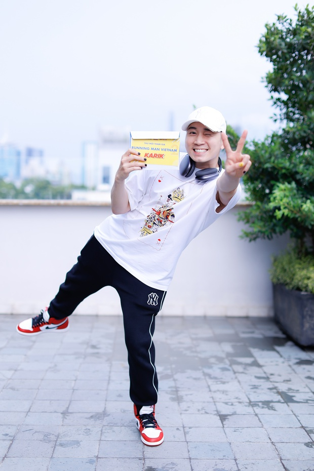 Karik lộ bụng tròn xoe ở Running Man, hậu quả của việc uống nước ngọt từ thời Rap Việt? - Ảnh 6.