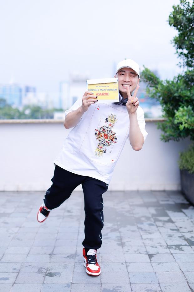 Karik lộ bụng tròn xoe ở Running Man, hậu quả của việc uống nước ngọt từ thời Rap Việt? - Ảnh 5.
