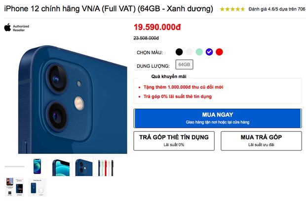 Lễ 30/4 hàng loạt sàn TMĐT giảm giá iPhone 12 kịch sàn, nhưng tại các cửa hàng bán lẻ còn có giá tốt hơn? - Ảnh 3.