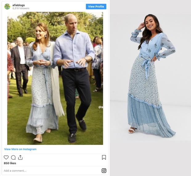 Công nương Kate mặc váy cũ chụp ảnh kỷ niệm 10 năm ngày cưới, nhưng đây là bộ váy nhìn chán nhất tủ đồ của cô - Ảnh 3.