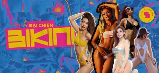 Lệ Quyên gia nhập đại chiến bikini: Tạo dáng uốn éo trông thật sexy mà nhìn muốn trẹo eo - Ảnh 8.