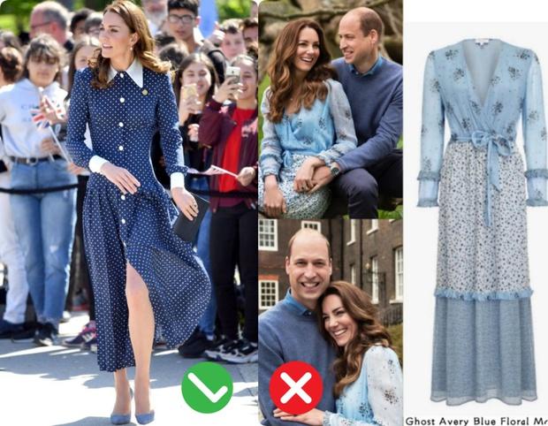 Công nương Kate mặc váy cũ chụp ảnh kỷ niệm 10 năm ngày cưới, nhưng đây là bộ váy nhìn chán nhất tủ đồ của cô - Ảnh 9.