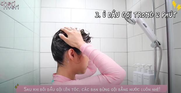 Phụ nữ Hàn gội đầu theo cách này để cải thiện tình trạng tóc dầu bết dính  - Ảnh 13.