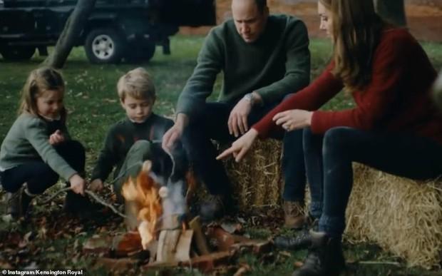 Vợ chồng Công nương Kate chia sẻ đoạn video làm tan chảy trái tim người hâm mộ với loạt khoảnh khắc đời thường vui vẻ bên 3 con - Ảnh 5.