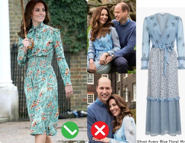 Công nương Kate mặc váy cũ chụp ảnh kỷ niệm 10 năm ngày cưới, nhưng đây là bộ váy nhìn chán nhất tủ đồ của cô - Ảnh 8.