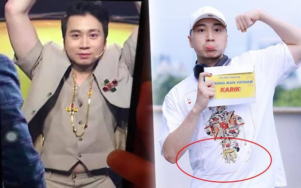 Karik lộ bụng tròn xoe ở Running Man, hậu quả của việc uống nước ngọt từ thời Rap Việt? - Ảnh 7.