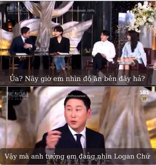 Bà cả Penthouse Lee Ji Ah đắm đuối nhìn lén tình màn ảnh Logan, tưởng phim giả tình thật nhưng ngã ngửa vì sự thật phũ phàng - Ảnh 2.